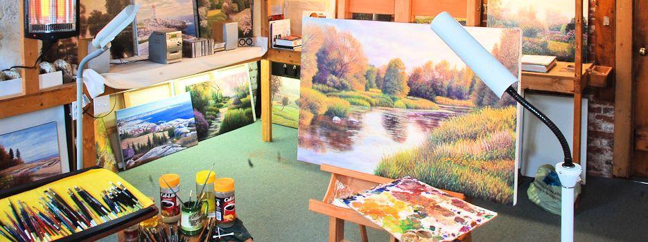 David Howells' Studio