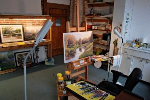 David Howell's Art Studio