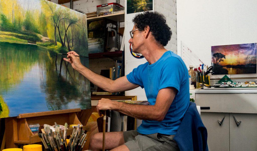 David Howells at work