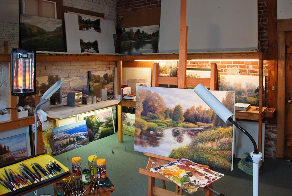 David Howell's Studio