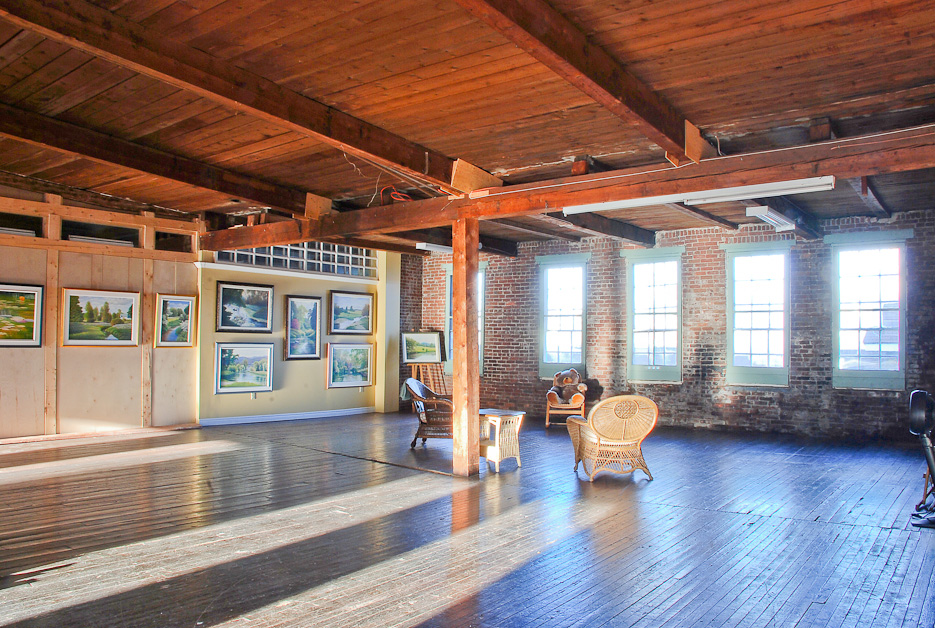 Upstairs open space